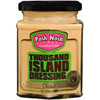 Posh Nosh Thousand Island Dressing (Classic Flavour, 240 gm)