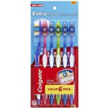 Colgate Extra Clean Toothbrush Full Head, Soft (6 Count)