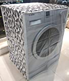 FRONT LOAD WASHING MACHINE COVER FOR CAPACITY 7KG,7.5KG,8KG & 8.5KG ONLY PLEASE MESURE ( WIDTH 24INCH ,DEPTH 24INCH)SUPPORTS ALL DISHWASHERS ALSO