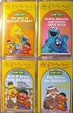 img - for Sesame Street - Four Full Length Cassettes - 72 Songs [Audio Cassette} book / textbook / text book