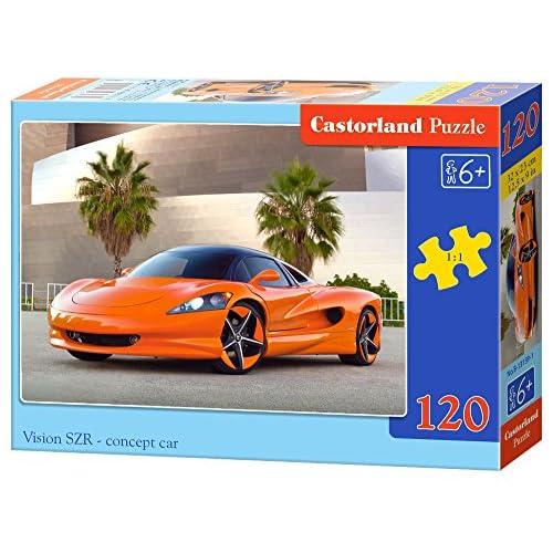 Castorland Puzzle Classique–Vision Vzr Concept voiture (Lot, multicolore)
