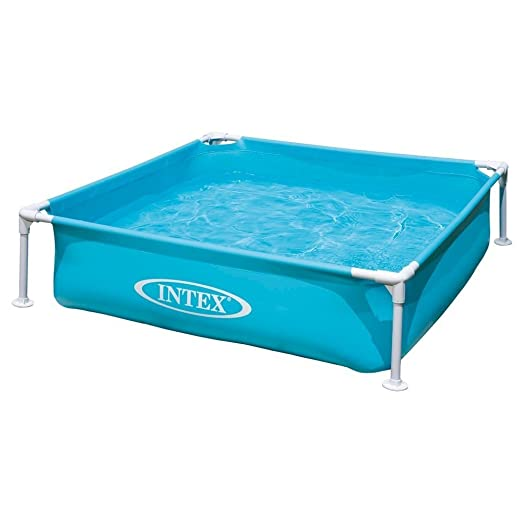 Intex 57173NP - Piscina desmontable mini small frame 122 x 30 cm, 342 litros: Amazon.es: Jardín