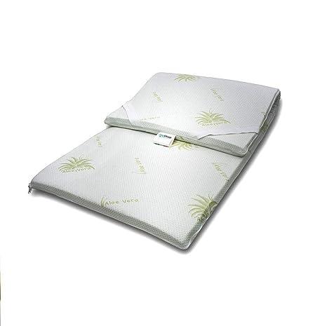 TOPPER 100% Puro Látex Natural Corrector para Colchón o Pillow top - individual 80x190
