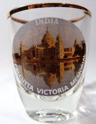 India Calcutta Victoria Memorial Shot Glass