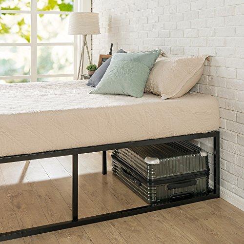 Zinus Joseph Modern Studio 18 Inch Platforma Bed Frame / Mattress Foundation / Boxspring Optional / Wood slat support, Queen