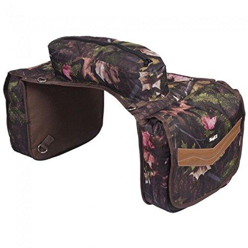 Camouflage Horse Saddle Bags - 3