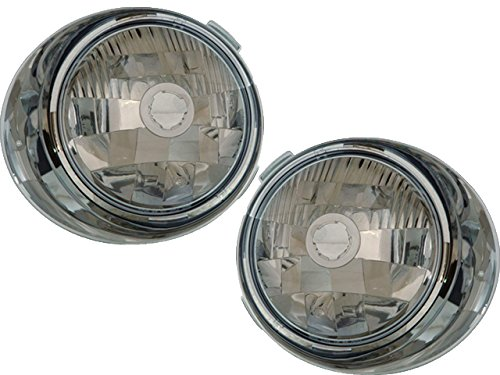 Freightliner Century 96-05 Inner Clear Head Light Pair A0621641000 , A0621641001 by DEPO