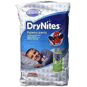 Couches Culottes Huggies DryNites Spiderman 4-7 Ans, 30 par paquets 8