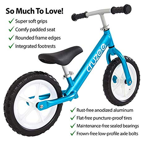 Surprising Cruzee Ultralite Balance Bike 2 0 Kg For Ages 3 To 5 Years Black 12 Inch Camellatalisay Diy Chair Ideas Camellatalisaycom