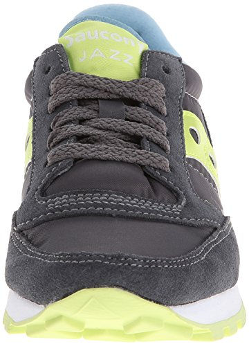 Sneaker Light Women's Saucony Green Originals Original Jazz Charcoal 1YZWUZn