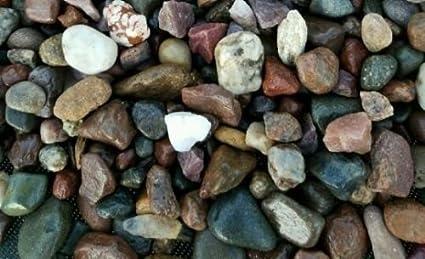 15  lbs fish tank rock pebbles and small river stones