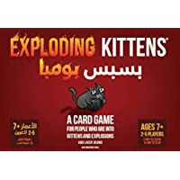 Exploding Kittens Card Game Arabic and English