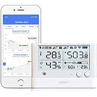 Ubibot WS1 Pro WiFi Temperature Sensor, Wireless Thermometer Hygrometer, Humidity Monitor, Remote Temperature Data…