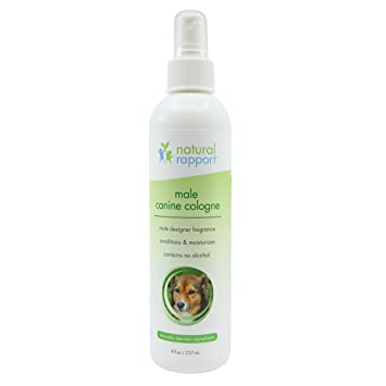 Natural Rapport - Spray de Colonia para Perro, 3 en 1, desodorizante Natural para