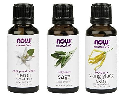 3 Pack Variety NOW Essential Oils