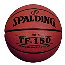 Spalding TF-150 Outdoor Basketball, 28.5-Inch