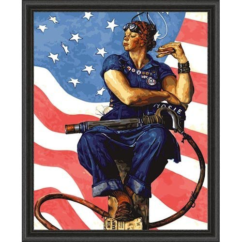rosie the riveter poster norman rockwell images galleries with a bite. Black Bedroom Furniture Sets. Home Design Ideas