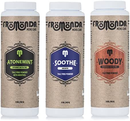 Fromonda Body Powder Multi-Scent 5 Oz 3-Pack