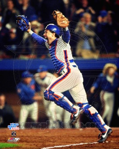 Gary Carter New York Mets Celebrates Winning 1986 World Series 8x10 Photo