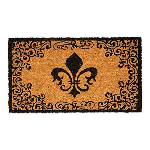 (Natural Coir Coco Fiber Non-Slip Outdoor/Indoor Doormat, 16X28