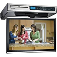 Venturer KLV39103 10-Inch Under-Cabinet LCD TV/DVD Combination (Silver)