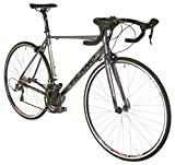 Vilano FORZA 2.0 Aluminum Carbon Tiagra Road Bike, Matte Grey, 49cm/Small