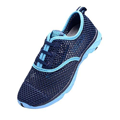 Genda 2Archer Adult Men Women Quick Drying Aqua Water Shoes Blue