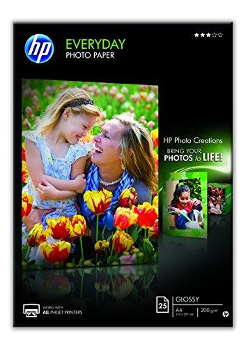 HP Q5451A A4 Black,Blue,White photo paper by Hp