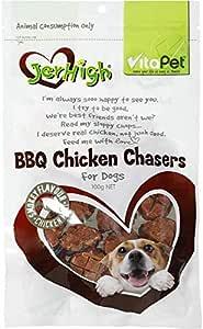 Vita Pet  Jerhigh BBQ Chicken Chaser Treats, Small/Medium/Large dogs, Puppies/Adult/Senior, 100g