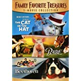 Family Favorite Treasures 3-Movie Collection (The Cat In The Hat / Babe / Beethoven)