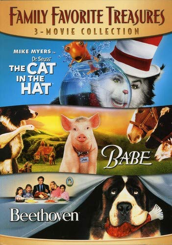 Halloween Movies For Kids 2019 (Family Favorite Treasures 3-Movie Collection (The Cat In The Hat / Babe /)