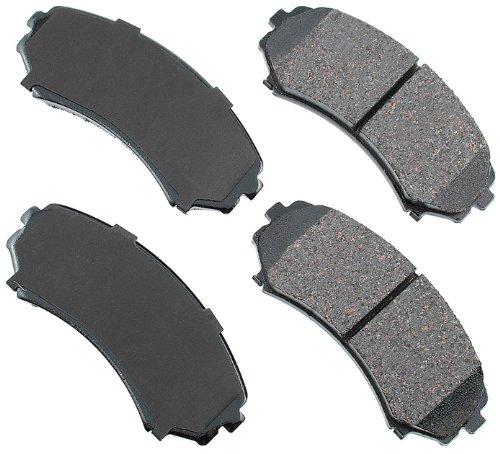 - Akebono ACT867 ProACT Ultra-Premium Ceramic Brake Pad Set