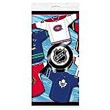 Plastic NHL Hockey Tablecloth, 84