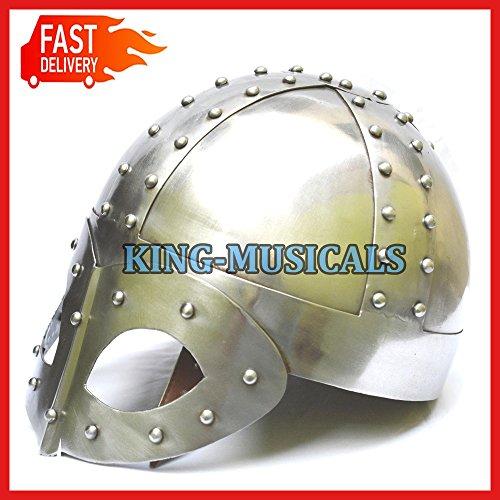 Viking Medieval guerrero casco Vikingo casco de Viking espectáculo