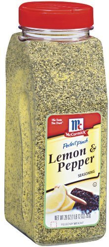 McCormick Seasoning Salt, Lemon and Pepper, 28-Ounce by (Mccormick Lemon Pepper)