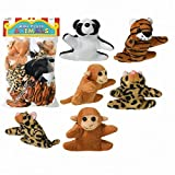 Mini Plush Animals Prize Pack - 12 Assorted Animals