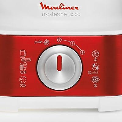 Moulinex Masterchef 8000 850W 3L Rojo - Robot de cocina (3 L, Rojo ...