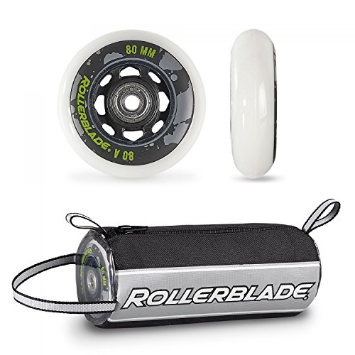 Rollerblade Wheelkit Urban 80mm / 80A SG7 Bearings ST & Headband Bundle Sg7 Bearings