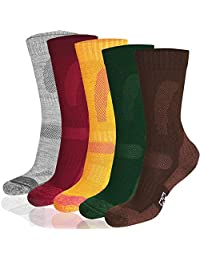Merino Wool Hiking Crew Socks for Trekking, Performance & Outdoor, Men & Women