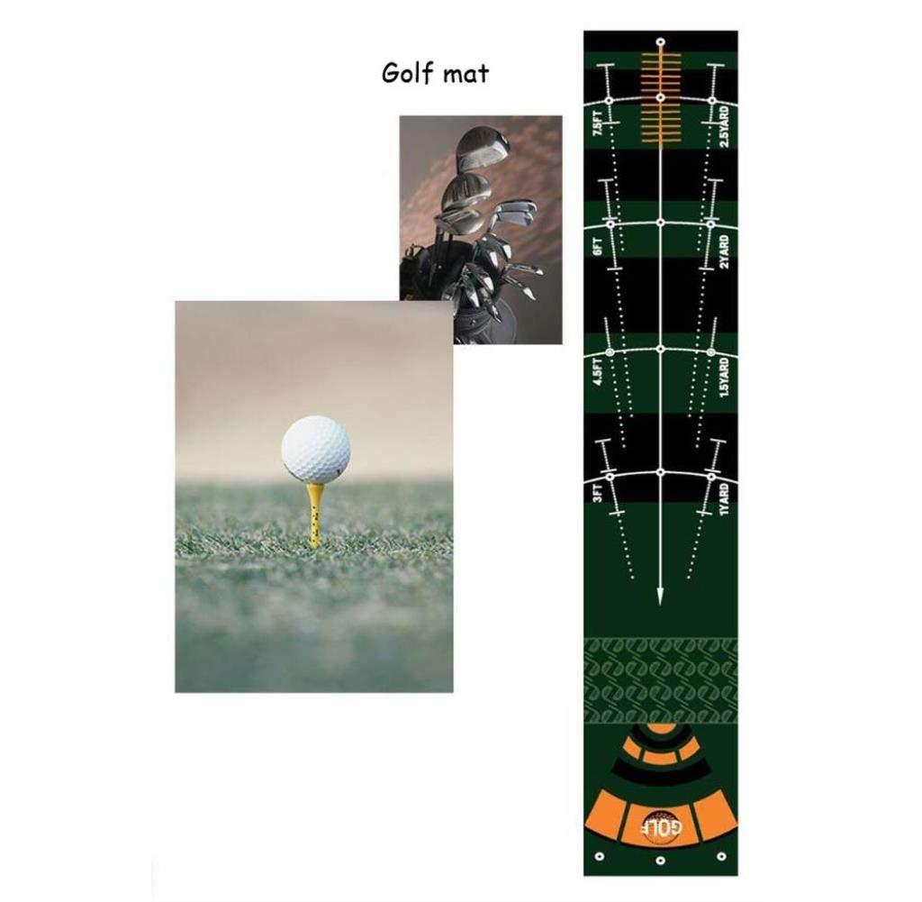 ゴルフ練習ブランケットパター練習マットシミュレーションパタートレーナーパッド組み合わせリアルなフェアウェイ50×300センチ   B07SG1KM8B