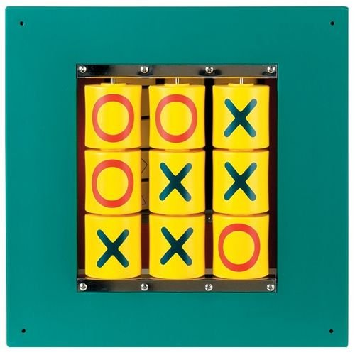 Anatex Busy Cube-Tic-Tac-Toe Wall Panel by Anatex