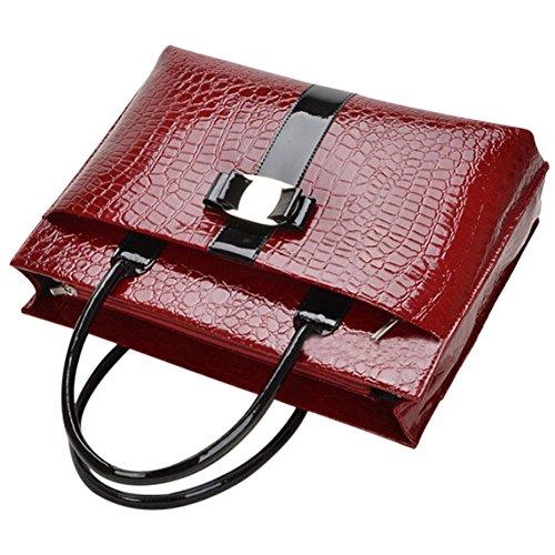 Gowind6, Sac pour femme à porter à l'épaule, Red (Rouge) - 98333.02 Red