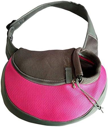 Hongfutong - Bolsa de hombro para mascotas (portátil, suave, para perros y gatos).