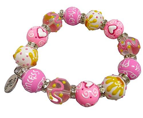 princess-glass-bead-stretch-bracelet