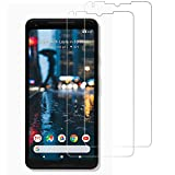 Gzerma for Google Pixel 2 XL Screen Protector Film Case Friendly Design, HD Clear, Touch Accuracy, Easy Installation, Protective Facing Cover Shield for Google Pixel 2XL 6.0' Smartphone (2 Pack)