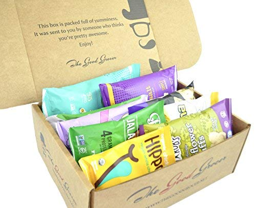 GLUTEN FREE and VEGAN Healthy Snacks Care Package (28 Ct): Plant-Based Snacks, Bars, Chips, Crispy F - http://coolthings.us