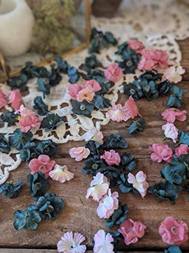 Sweetheart Table Decorations Wedding, Baby Shower Table Decorations, Bridal Shower Decor, Flower Confetti, Teal And Pink]()