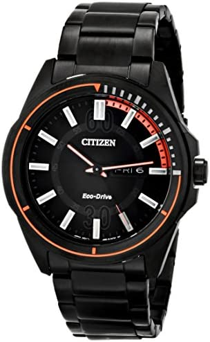 Citizen Eco-Drive Men s AW0038-53E Drive from Citizen HTM Analog Display Black Watch