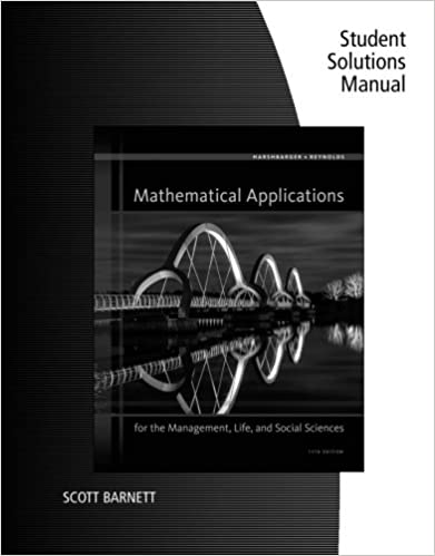 Student solutions manual for harshbargerreynolds mathematical student solutions manual for harshbargerreynolds mathematical applications for the management life and social sciences 11th 11th edition fandeluxe Choice Image