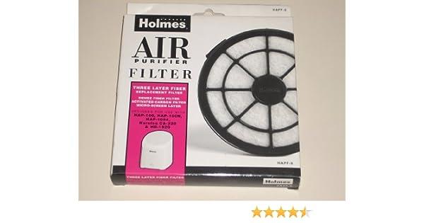 HOLMES filtro purificador de aire HAPF-9. Filtro de repuesto de ...